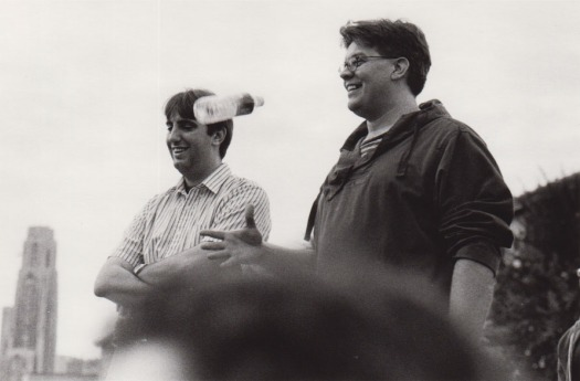 Greg and Ron, 2001