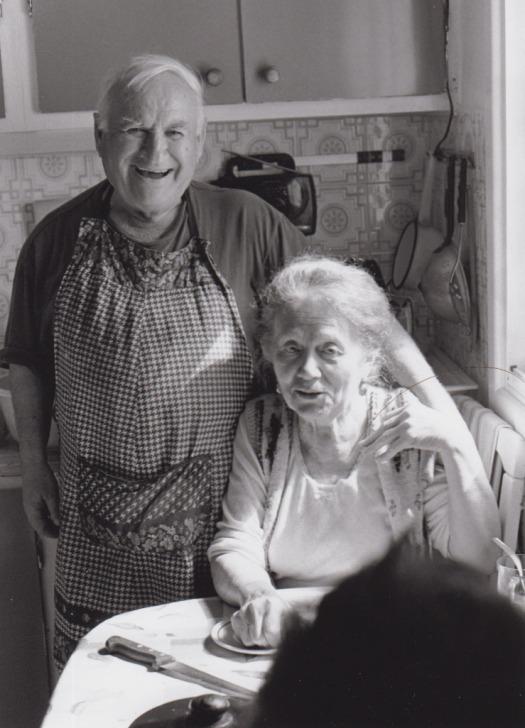 Rafail and Zhenya, Kfar Saba, 2010