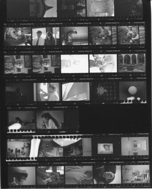 the first contact sheet